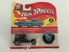 Original Color Blue Paddy Wagon Redline 1992 Hot Wheels 25Th Ann Series Mib