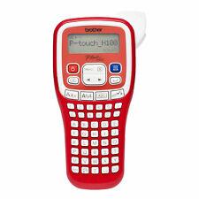 Brother P-Touch H100 Rot Mobiles Beschriftungsgerät Etikettendrucker