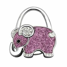 Hang Bag Holder Hook Handbag Foldable Elephant Brilliant D6E8