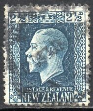 New Zealand 1916 Sg 419a 2½d blue (Perf 14x14½) Good Used