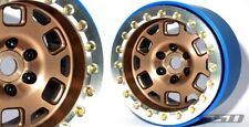 "SSD RC 2.2"" Contender PL Beadlock Wheels (Bronze) (2) SSD00314"