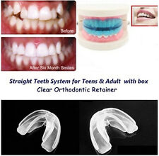 2016 Straight Teeth System for Teens Adults Orthodontic Retainer box cleaning AL