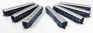 KATO #10-172 JNR Series 10 Sleeper 7-coaches set (N scale 1/150)