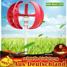 12V Windgenerator, Windturbine, Windkraftanlage 600W Vertikale Laternen Turbine