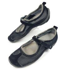 Merrell Relay Tour Womens 7.5 Black Mesh Athletic Walking Shoes Hook & Loop