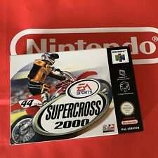 Supercross 2000 NEU für Nintendo 64 N64 NEW CIB TOP Super Cross PAL