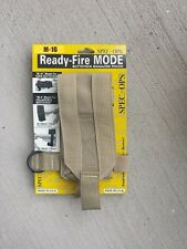 SPEC OPS BRAND - Ready Fire MODE - Butt stock Magazine Pouch Carrier - FDE New
