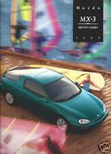 Auto Brochure - Mazda - MX-3 - Sports Coupe - 1995  (AB588)