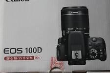 Canon Digital Camera EOS 100D w/ Lens EF-S18-55mm