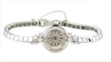 Ladies 18k Gold Deco Tiffany & Co Diamond Univeral Geneve Watch