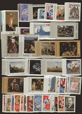 RUSSIA STAMP COLLECTION — (51) SETS + (9) S/S — 1969-1974 — MINT