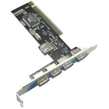 PCI USB card USB2.0 card PCI expansion card PCI to 4USB port VIA conversion card