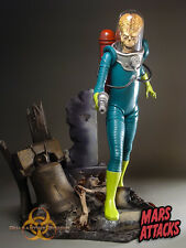 Mars Attacks Alien Resin Statue Quarantine Studio Paquet NEW SEALED