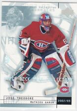 MINT! 2002-03 UD MASK COLLECTION TEAMMATES #45 THEODORE/GARON MONTREAL CANADIENS