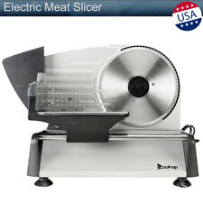 "Electric Meat Slicer 7.5"" Deli Bread Food Cheese Kitchen Gear Cutter Machine new"