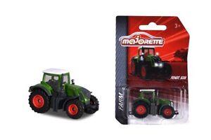 Majorette 212057400Q04 - Ferme - Fendt 939 Tracteur - Vert ( Env. 7cm) - Neuf