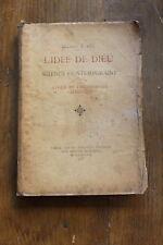 Docteur E. REY - l'idée de Dieu, étude philosophie - ed. E. Faure 1893