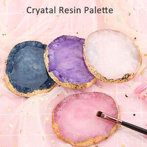 Resin Nail Art Paint Gel Polish Palette Display Holder Color Pigment PlateBoard!