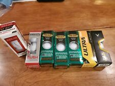 23 new Golf balls Pinnacle, Top Flight, Wilson, Hex all in boxes see pics