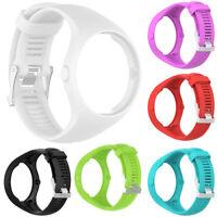 Durable Soft Solid Color Smart Bracelet Watch Strap Wrist Band For Polar M200