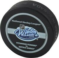 Pittsburgh Penguins vs Buffalo Sabres 2008 Winter Classic Official Game Puck