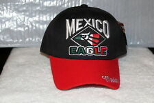 524a51bccce MEXICO EAGLE HECHO EN MEXICO AGUILA BASEBALL CAP HAT ( BLACK   RED )