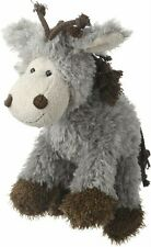 Multipet Mane Event Plush Dog Toy-Donkey