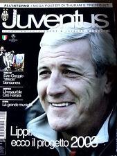 Hurrà Juventus 1 2003 con maxi Poster Thuram e Trezeguet