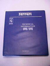 Ferrari 328 Technical Information_Brake Systems Workshop Manuals GTB GTS OEM