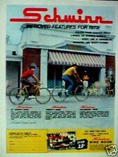 1973 Schwinn Varsity Sport,Collegiate Bike Inproved Features Bicycles Promo AD