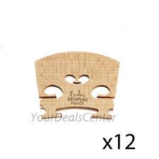 "Dozen Despiau Violin Bridge ""Ecolier"" 4/4 size -12 PC"