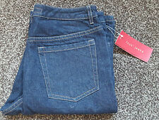 French Connection Womens  Dark Blue Denim Jeans UK 10 BNWT  FREE UK PP