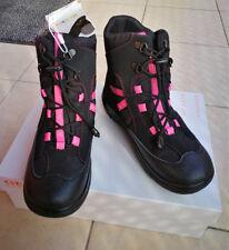 Neu Geox Mädchen  Kinder Stiefel Stiefeletter Gr.31 Winterschuhe Schwarz/Pink