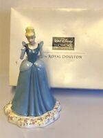 "Lovely Royal Doulton ""Cinderella"" Walt Disney Showcase Princess Figurine Boxed"