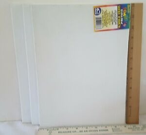 Vntg. Craft Foam Sheets--12 x 9 Inches -3  White -6mm Super Thick