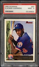 Vladimir Guerrero Expos 1995 Bowman Baseball #90 Rookie Card rC PSA 9 Mint QTY