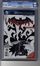 Batman (2011) # 7 - Combo Pack Edition - CGC 7.5 WHITE  Pages - First Harper Row