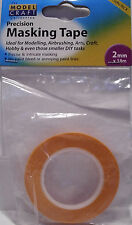 Modelcraft - 2 Rolls 2mm Wide x 18m Long Modellers Masking Tape - 1st Class Post