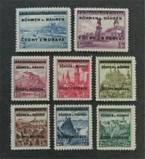 nystamps Czechoslovakia Bohemia & Moravia Stamp # 11//19 Mint OG H $38