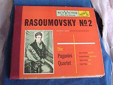 Paganini Quartet/Beethoven String Quartet #2/4 78s/Victor DM-1152/NEW OLD STOCK*