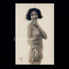Petite Nude latin woman/nue südländische femme * vintage 20s risque photo pc