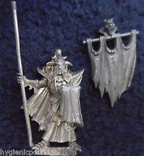 1999 Dark Elf Black Guard Of Naggarond abanderado Ciudadela Comando Banner Gw