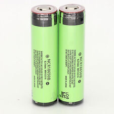 2x Genuine Protected Panasonic NCR18650B 3400mAh Rechargeable PCB LI-ion Battery