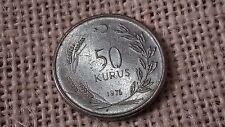 Turkey 50 kurus 1976.