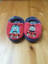 M/&S 'THOMAS TANK' BOYS SLIPPERS INFANT SIZE 5 BNWT