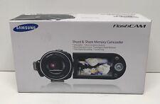 Samsung SMX-F34BN 16 GB Camcorder -  Black