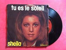 Vinyle, SHEILA, 45 Tours VINTAGE, TU ES LE SOLEIL/NON, CHERI...