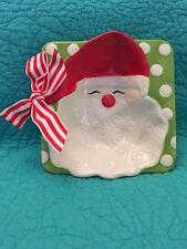Mud Pie Santa Dip Bowl With Ribbon