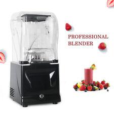 Commercial Fruit Blender Mixer Juicer Heavy Duty Smoothie Blender Ice Crusher