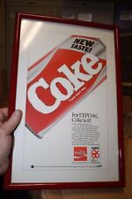 Coca-cola Expo 1986 advertising marketing proof Canada in frame from exec estate